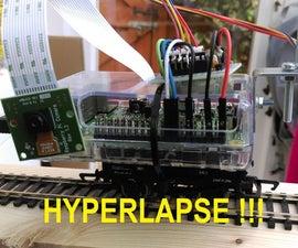 Raspberry Pi moving timelapse