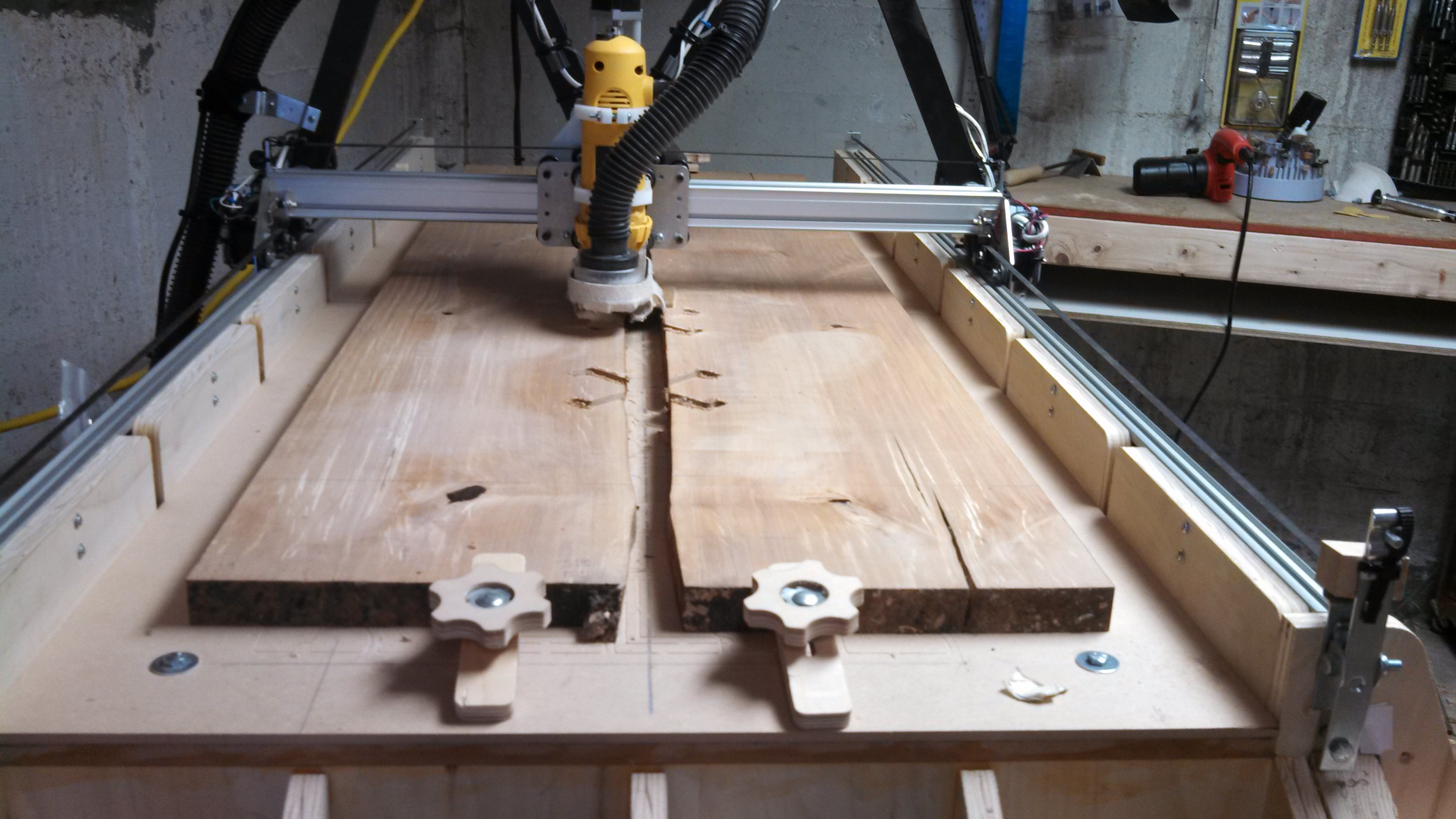 Picture of Prep Boards for Top, and Mill Inlay Pockets