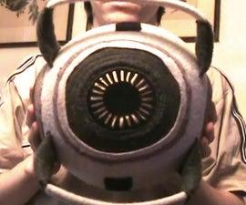 Portal 2 talking space core plush