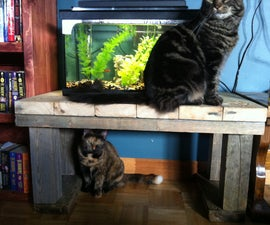 Upcycle aquarium stand or coffee table