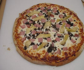 Timeshifting Food – Pizza from Scratch