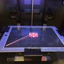 IPad glass as 3D printing build platform