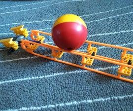 Micro Coaster Track | A K'nex Ball Machine Path