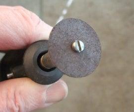 An Improvement to a Dremel Tool