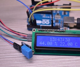 Arduino Weather Station || DHT 11