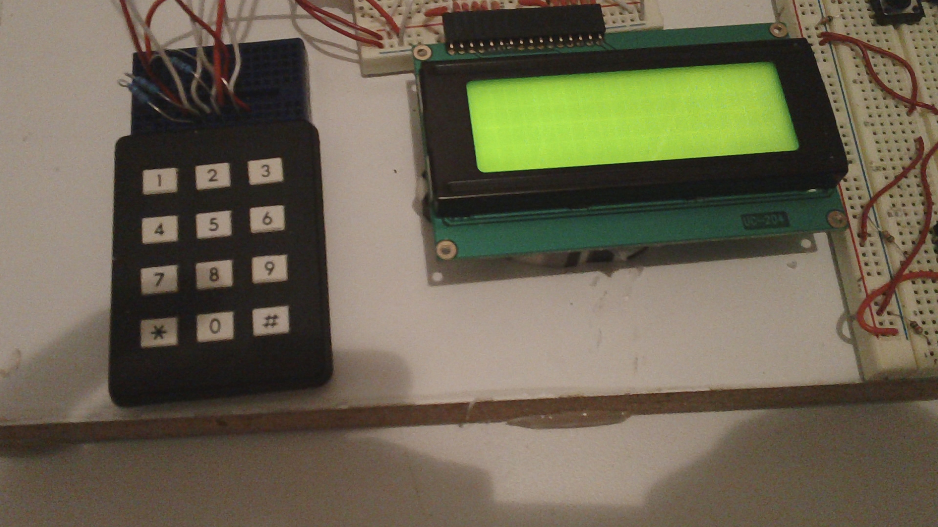Picture of Wire the LCD to the Arduino