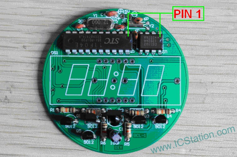 Picture of Weld MCU and Clock IC