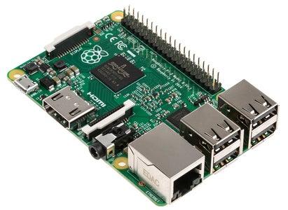 Setup an OS on the Rasperry Pi 2