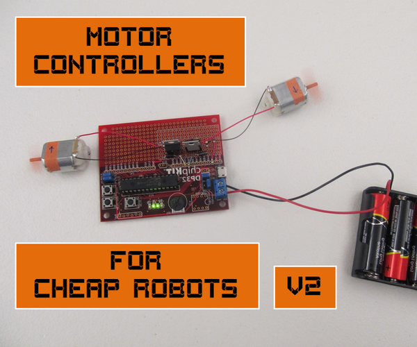 Motor Controllers for Cheap Robots 2