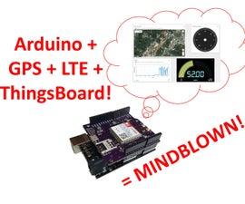 LTE Arduino GPS Tracker + IoT Dashboard (Part 2)