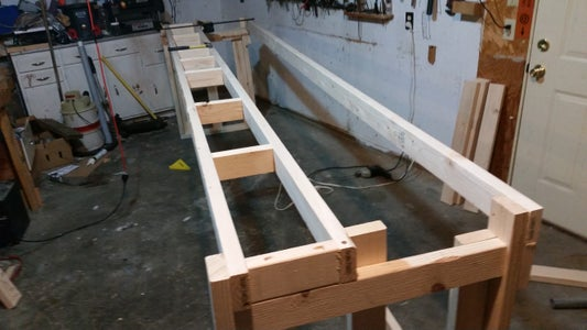 Finish Table Top Frame