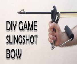 DIY Slingshot Bow Hybrid (Video With Slomo Demos)