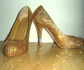 Swarovski Stilettos - By Verity Vale