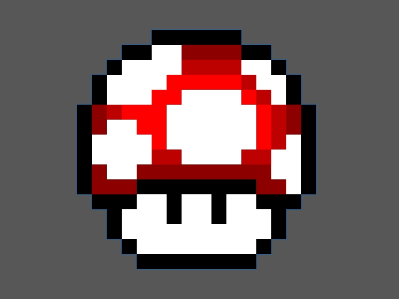 Picture of How to Make a Mario Mushroom Any Color You Want.