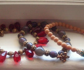 D.I.Y Stacked Beaded Bracelets