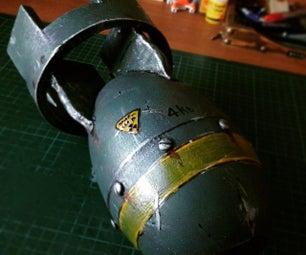 DIY Fallout Bomb Prop