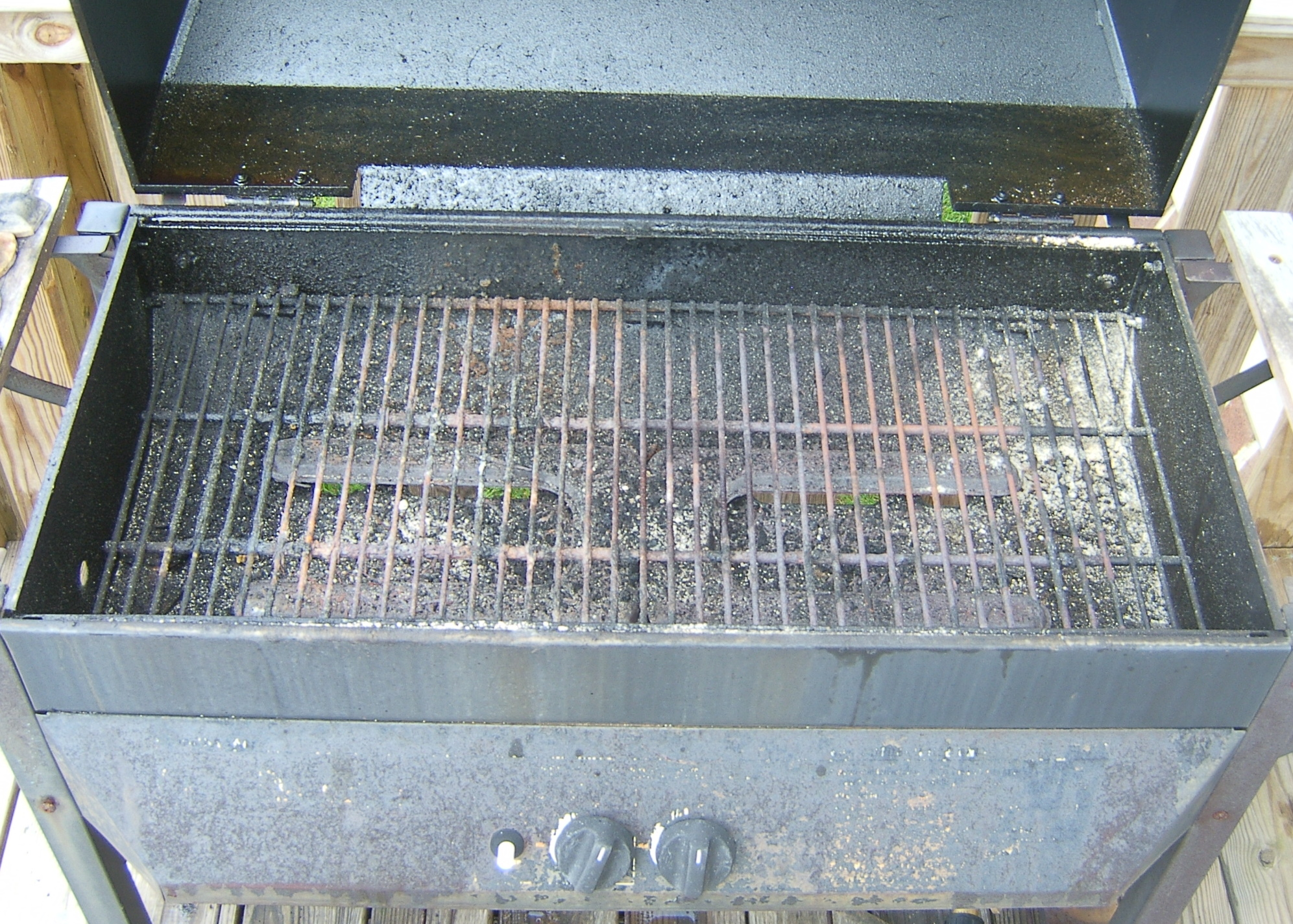 Picture of Pull Out the Burner Unit