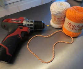How to 'Weave' Yarn with a Cordless Drill