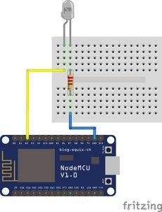 Preparing and Testing IR LED