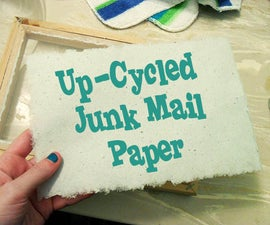 Up-Cycle Junk Mail Into Artisan Paper