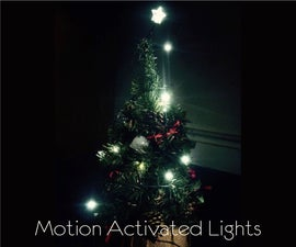 Motion Activated Christmas Lights