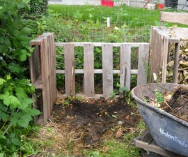 How to Build Cheap Compost Bins