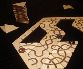 Laser cut Marquetry