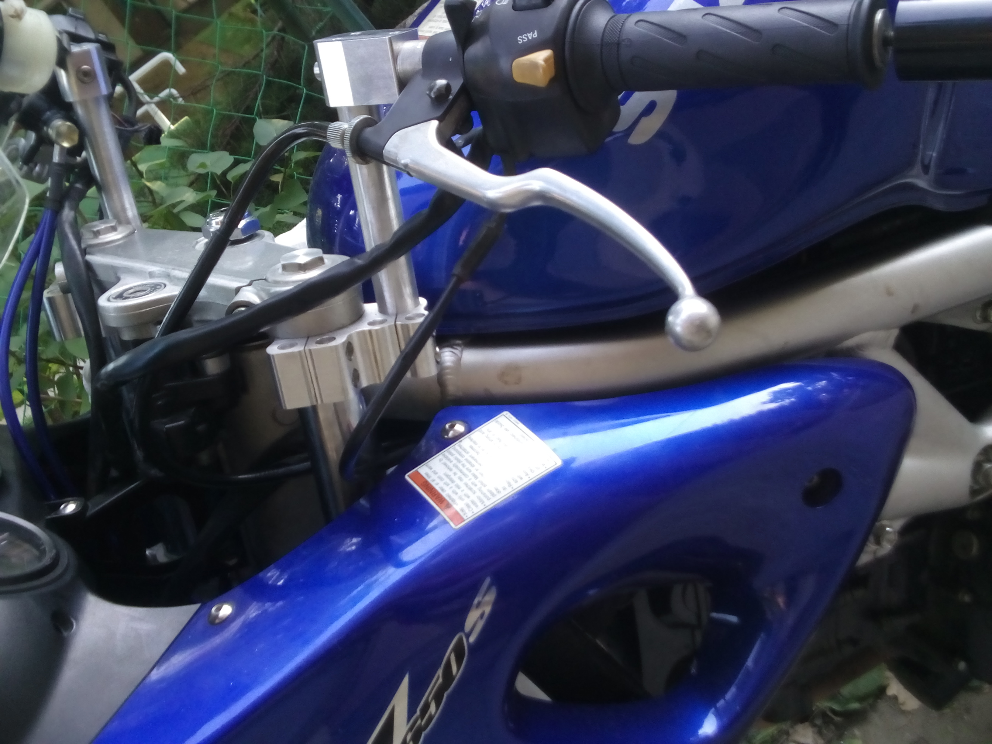 Picture of SV 650 S Handlebar Conversion