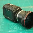 30mm. Filter Thread On JVC GC-XA1 Adixxion Camera
