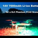 14V 7000mAh Li-ion Battery for DJI Phantom FC40