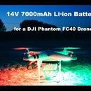 14V 7000mAh Li-ion Battery for DJI Phantom FC40