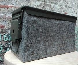 Ammo Box Speakers Cabinet