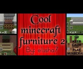 Cool Minecraft Furniture 2