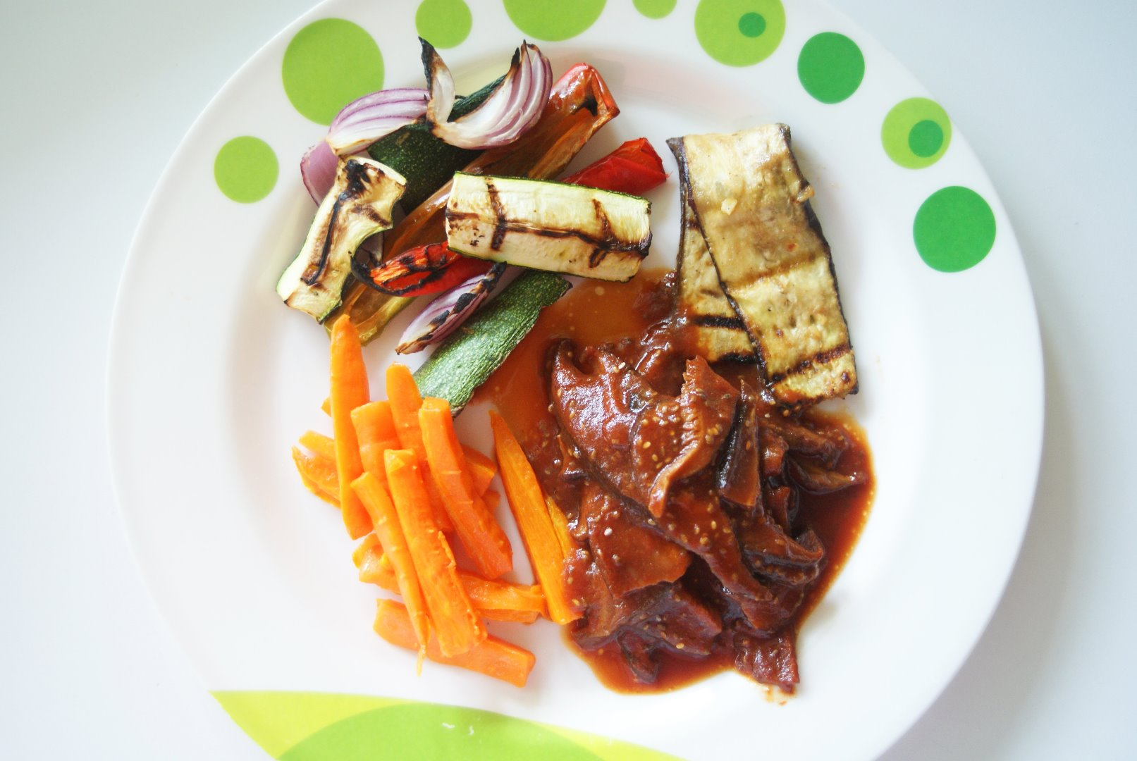 Picture of Kitchen Grill Dinner – Paleo and Vegetarian