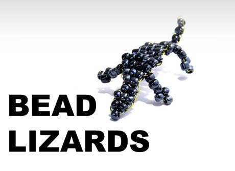 Picture of Bead Lizard
