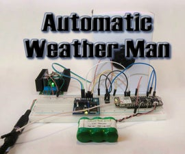 Arduino PHP Text and Data to Speech - an Automatic Weatherman