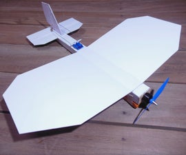 Scratch Built RC Airplane
