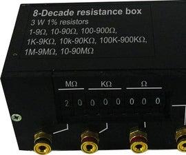 Resistance Substitution box (0 - 100 Meg Ohm Resistance)