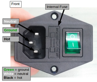 wire up a fused ac male power socket : 4 steps (with pictures) -  instructables  instructables
