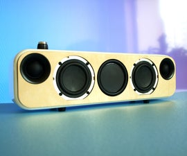 Portable Bluetooth + WiFi Speaker Build (FREE PLANS)