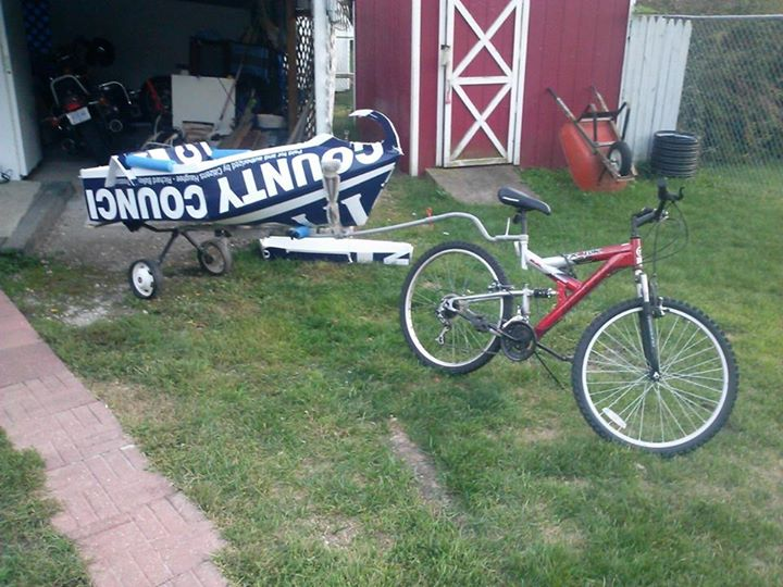 Picture of Boat Trailer for a Bike