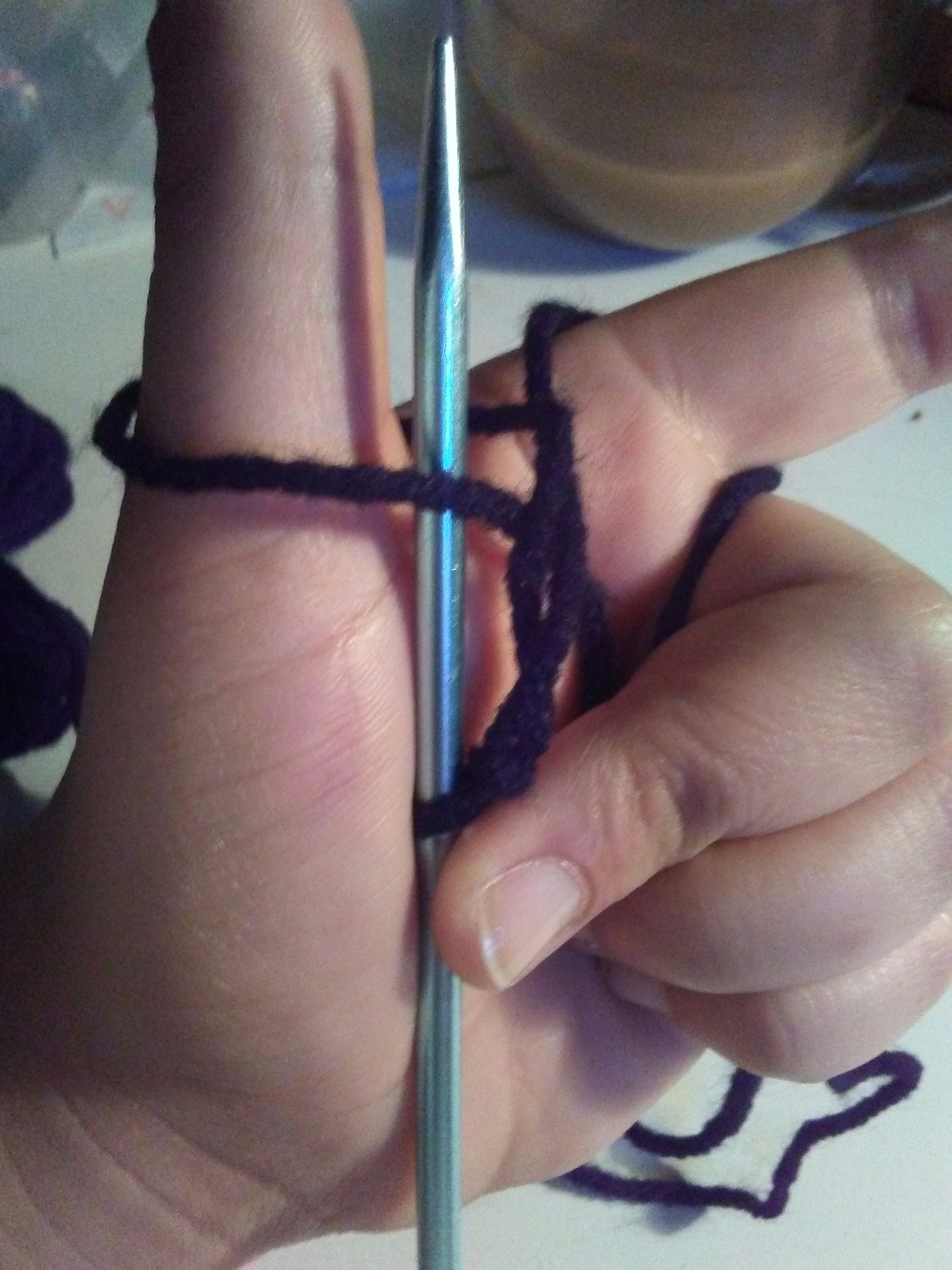 Picture of How to Do a Knit Stitch