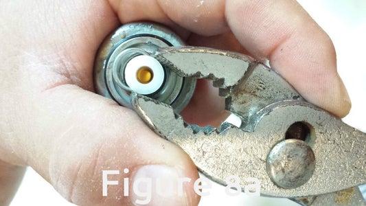 Remove the Sprayer Base Pin