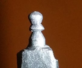 Pencil Chess Carving