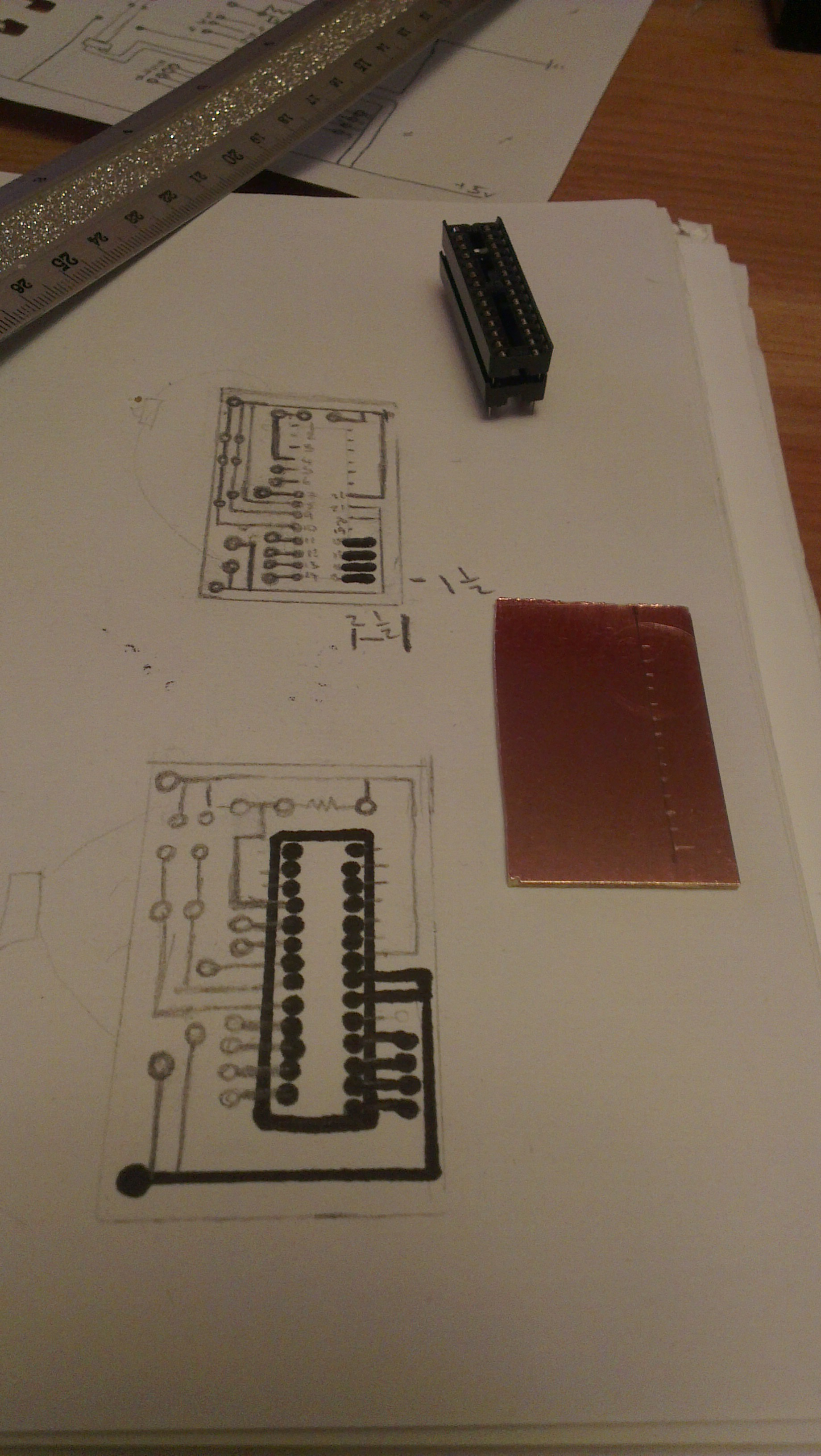 Picture of Creating the Custom Micro Board