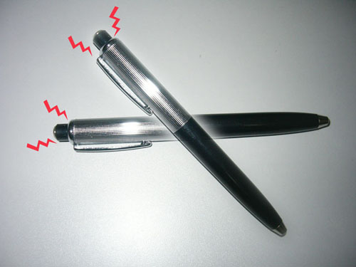 Picture of does anyone know how to make a shock pen?