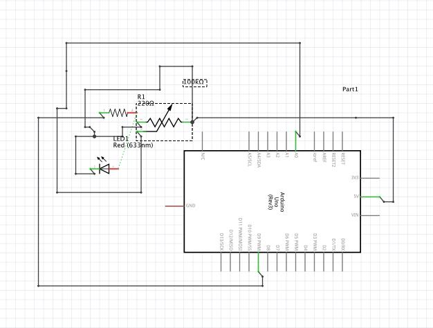 Picture of Exercício 3 - Potenciômetro, LED E Arduino