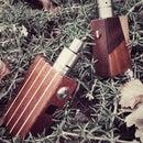 (e-cig) 2 mods de madera bottom feeder, electronico y mecanico