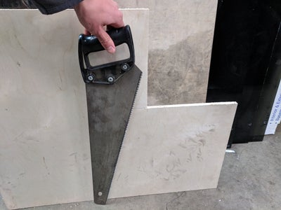 Cut the Plywood Board