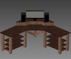 Prototyping a Modular Corner Desk